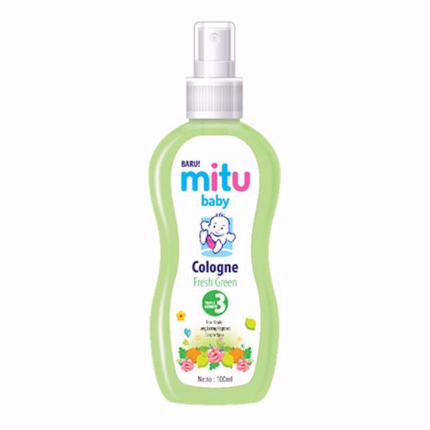 Picture of Mitu Baby Cologne - Sweet Green - 100ML