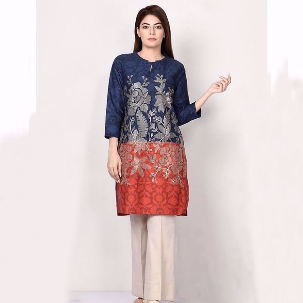 Picture of New Elegant Fancy Embroidered Lawn Collection 2021 For Eid